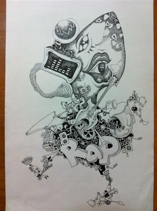 一只野鹭 手绘插画  评论0人参与讨论